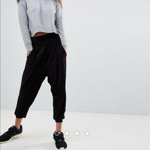 Adidas Harlem Black Joggers Sweatpants Gym Dance